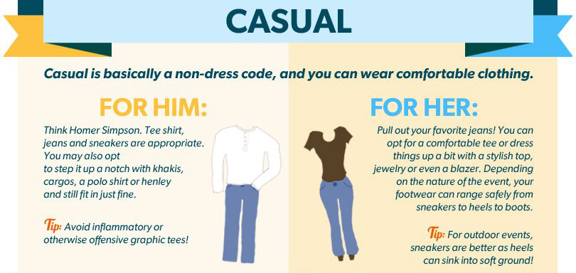 Casual dress code